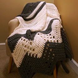Crochet Kit - Modern Luxe Throw