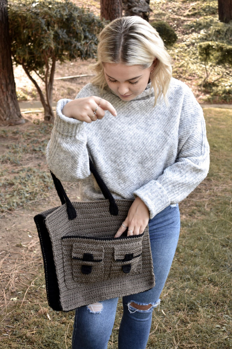 Crochet Kit - Stockport Tote