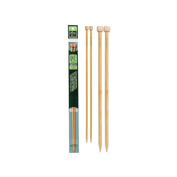 "Takumi Bamboo Premium Knitting Needles: 13"" - Size 1"