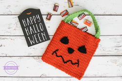 Crochet Kit - The Pumpkin Trick or Treat Bag