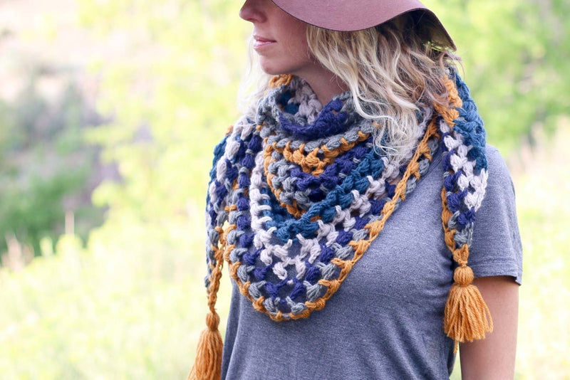 Crochet Kit - Revival Scarf