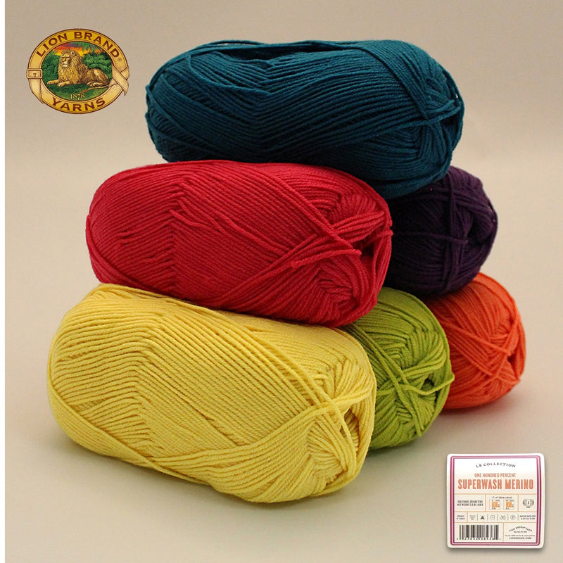 Color Palette - LB Collection® Superwash Merino Yarn - Sea Bright