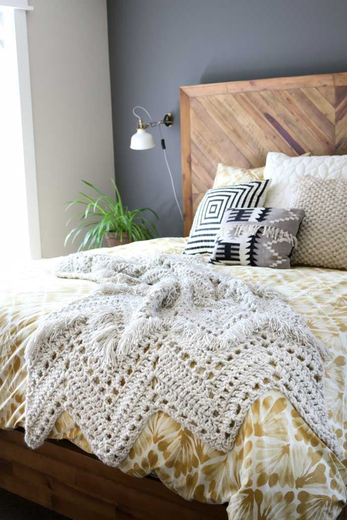 Crochet Kit - Sedona Fringed Throw