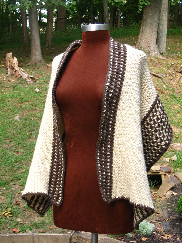 Fishermen's Wool® Wrap (Crochet)