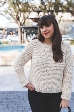 Knit Kit - Simple Knit Sweater