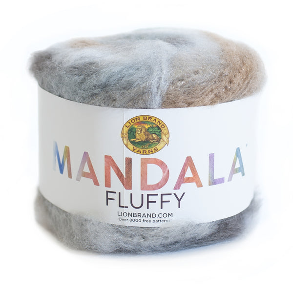 Mandala® Fluffy Yarn