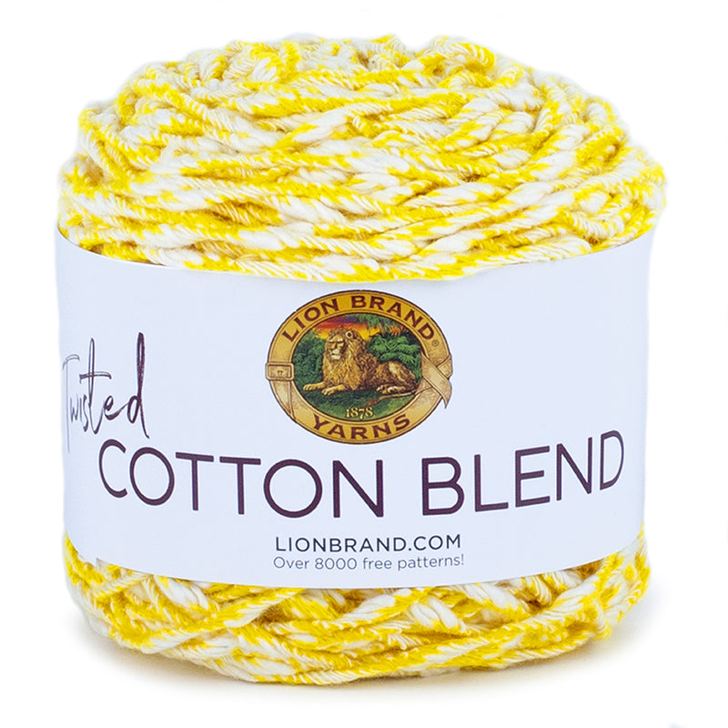 Twisted Cotton Blend Yarn