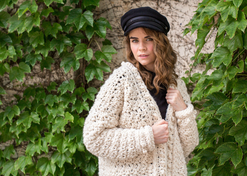 Crochet Kit - Snow Angel Cardigan