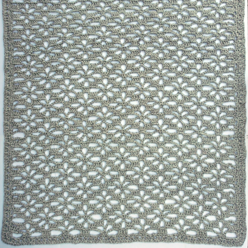 Crochet Kit - Snowflake Lace Throw