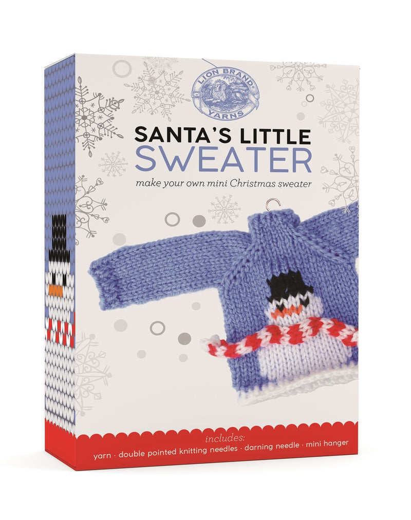 Santa's Little Sweater - Snowman