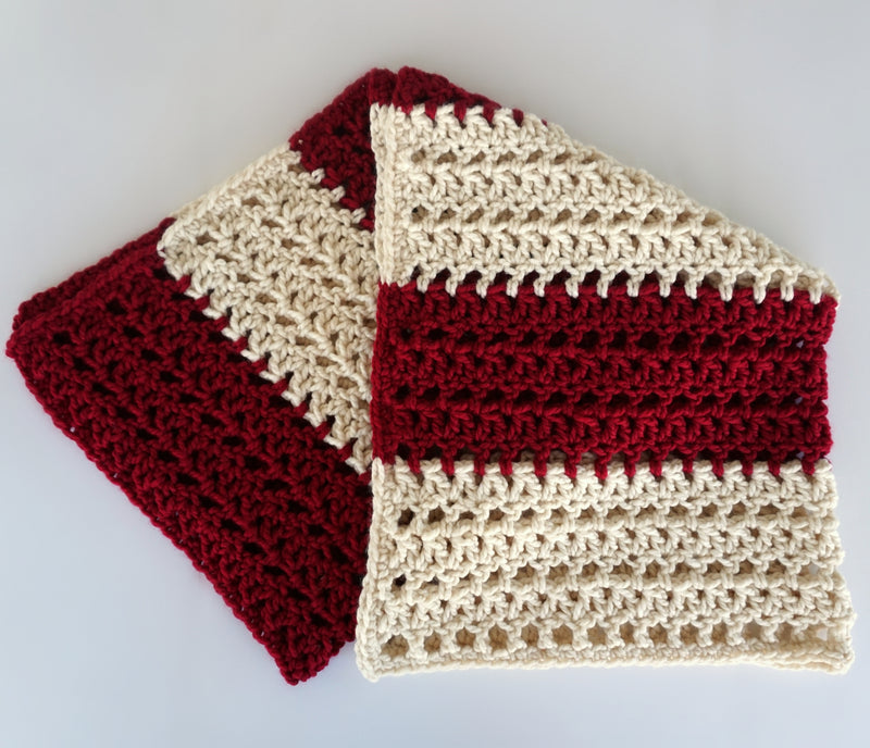 Crochet Kit - Colorblock Throw
