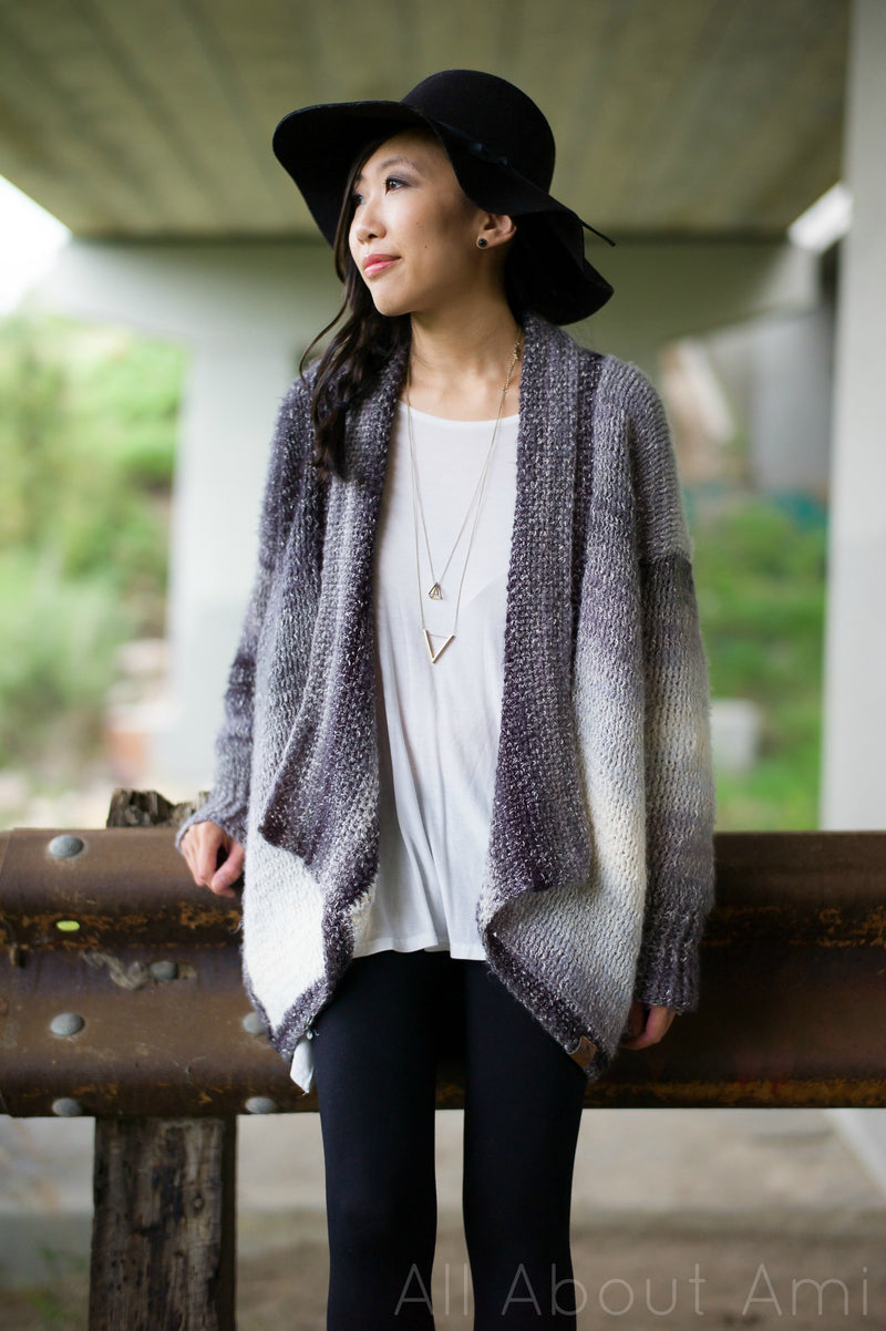 Crochet Kit - The Cascade Cardigan