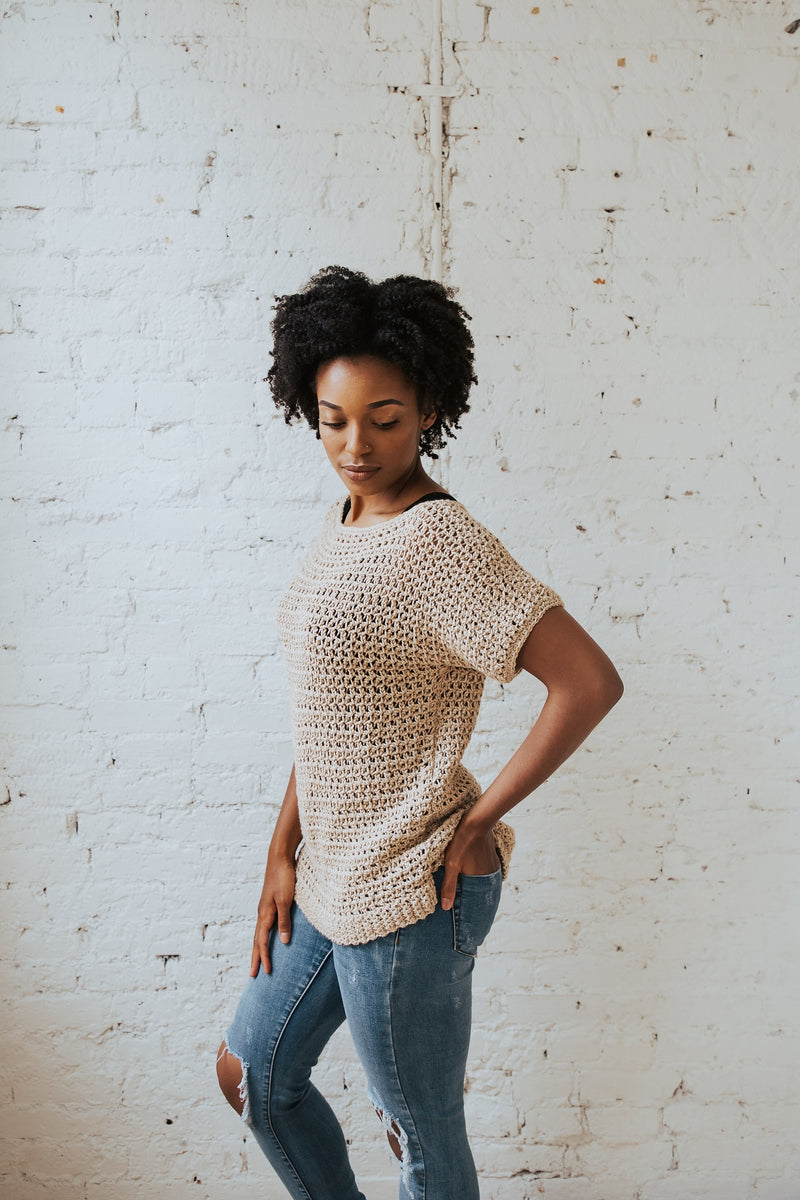 Crochet Kit - Summertime Tee