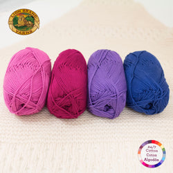 Color Palette - 24/7 Cotton® Yarn - Very Berry