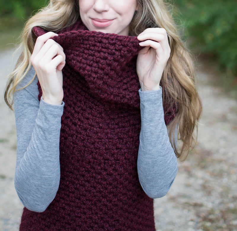Crochet Kit - Chain Link Armored Cowl
