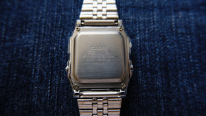 Tickdong I Casio AL-180 2505 Solar watch