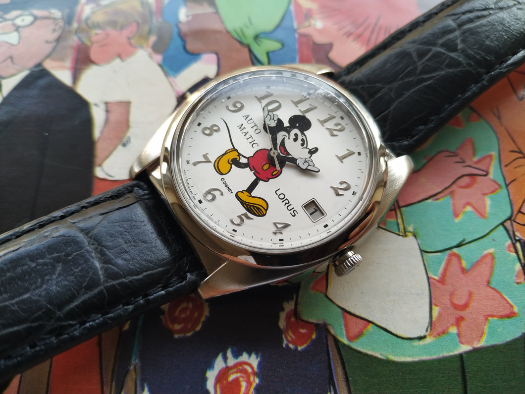 Lorus By Seiko Disney Mickey Mouse Automatic Watch Y621-6050 A1