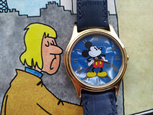 Lorus Disney Micky Mouse Wristwatch V500 7A30