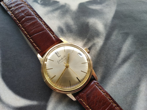 Tickdong Vintage Watches | Glashutte Wristwatch Calibre GUB 69.1