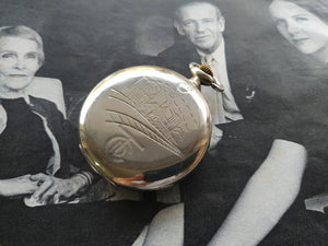 Cortebert Turkis Rail Road Pocket Watch