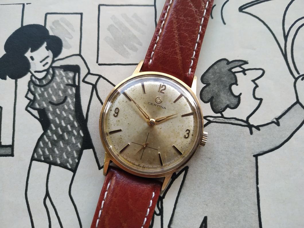 Tickdong Vintage Watches | Certina Sub Second Vintage Wristwatch