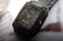Load image into Gallery viewer, Casio Flip Top Data Bank Calculator Wristwatch FTP 30