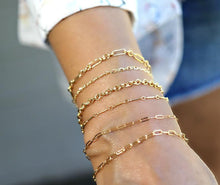 Load image into Gallery viewer, Dainty Gold Layering Bracelet