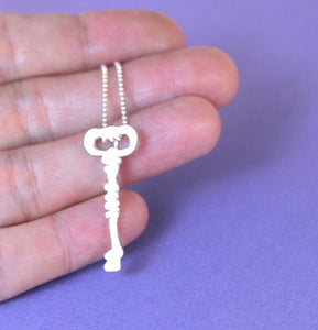 Old Times Skeleton Key Necklace