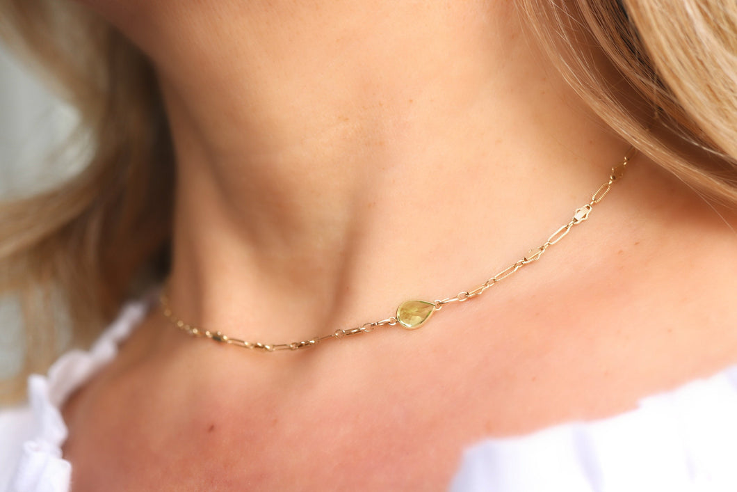 Gold Choker Necklace, Dainty Choker, Delicate Jewelry, Unique gifts