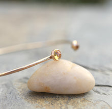 Load image into Gallery viewer, Citrine Bracelet, November Birthstone Jewelry