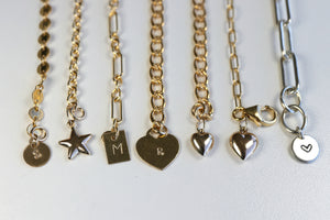 Add a Charm Or Tag to Your Melt'm Bracelets or Necklaces, Customize Your Necklaces and Bracelets