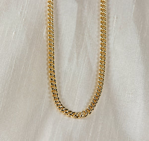 Gold Chain Necklace, Gold Layering Necklace