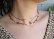 Load image into Gallery viewer, Personalized Dainty Gold Chain Choker