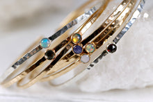 Load image into Gallery viewer, Birthstone Gems Cuff Bracelets
