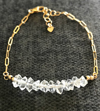 Load image into Gallery viewer, Herkimer Diamond Bracelet