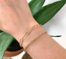 Load image into Gallery viewer, Big Bold Gold Chain Bracelets