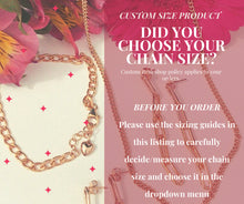 Load image into Gallery viewer, Gold Dainty Figaro Chain Choker Necklace