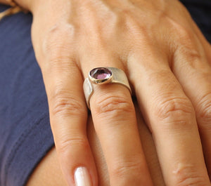 Amethyst Ring, February Birthstone