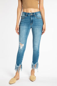 The Kancan High Rise Ankle Skinny