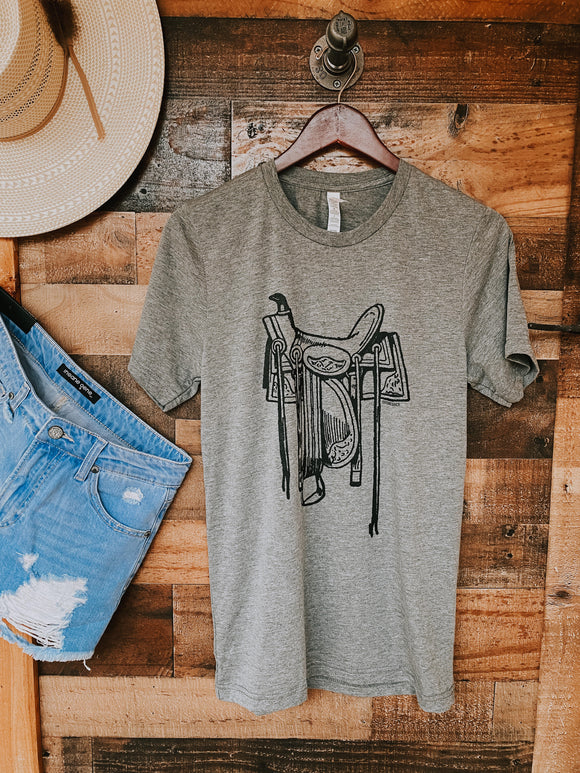 Grey Don't Sell Your Saddle Tee