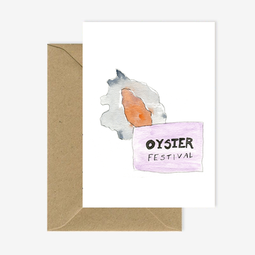 Oyster Festival, New Orleans Oyster Festival, oyster greeting card, NOLA greeting cards, NOLA quarantine greeting cards, NOLA festival greeting cards, New Orleans Festival Greeting Cards, New Orleans festivals