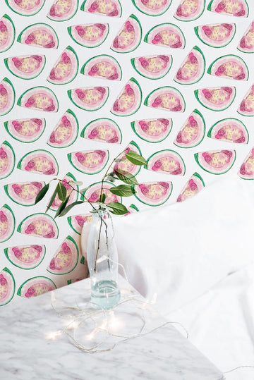 grapefruit wallpaper, green and pink wallpaper, bedroom wallpaper, girls room wallpaper, murals, wall murals, peel and stick, peel and stick wallpaper, apartment wallpaper, wallpaper for girls rooms, white and pink wallpaper, grapefruit, watercolor art wallpaper, wallpaper made from art, hand painted illustrations, fruit wallpaper, peel and stick grapefruit wallpaper, kids room wallpaper, kids removable wallpaper, wallpaper for girls room, pink wallpaper, cute grapefruit wallpaper, grapefruit wallpaper pink