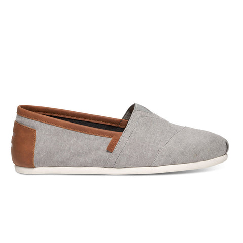 TOMS Frost Grey Chambray V2 Men's Classics Shose