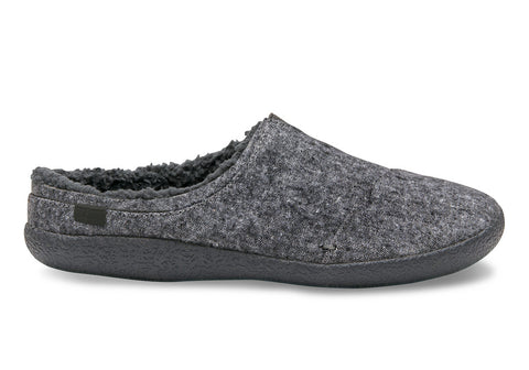 TOMS Grey Slub Textile Men'S Berkeley Slippers