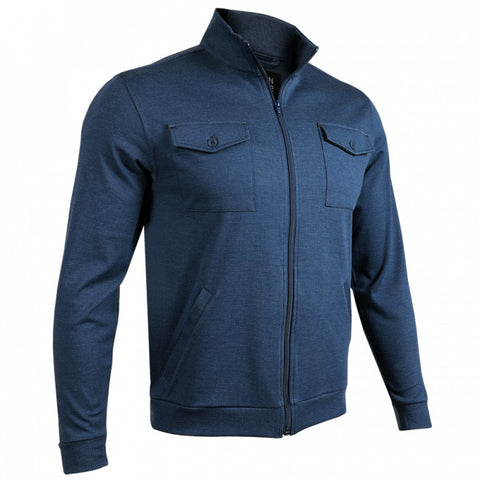 2UNDR 2-Pocket Zip Men's Jacket Navy/Grey