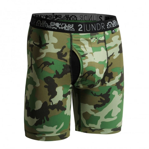 2UNDR Gear Shift Men's Underwear Woodland Camo -  - Koala Logic