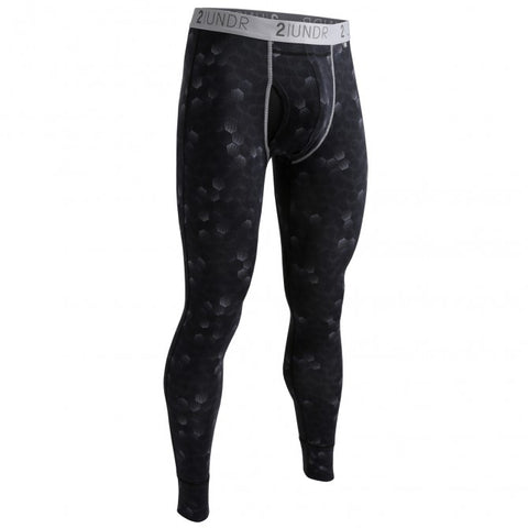 2UNDR Long John Men's Long Underwear Hexadot