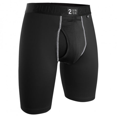 2UNDR Power Shift 2.0 Long Leg Men's Underwear Black