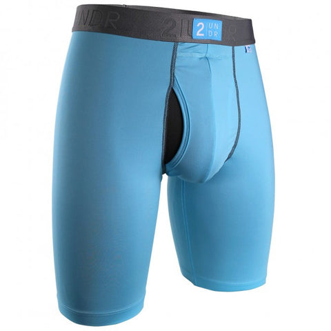 2UNDR Power Shift 2.0 Long Leg Men's Underwear Blue Ribbon