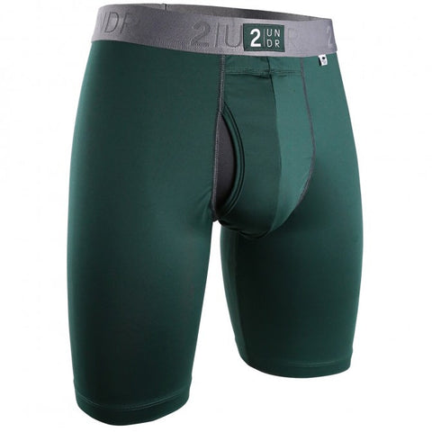 2UNDR Power Shift 2.0 Long Leg Men's Underwear Dark Green